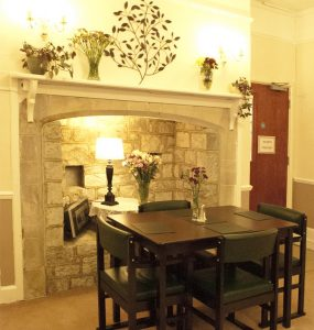 bramley dining3 285x300 - Care Homes Dorset & Residential Care Wiltshire