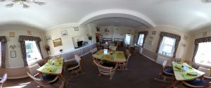 rectory dining room2 300x125 - Care Homes Dorset & Residential Care Wiltshire