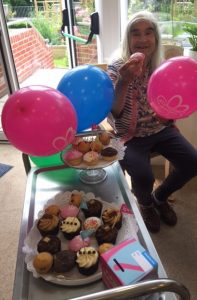 cupcake day 1 197x300 - Care Homes Dorset & Residential Care Wiltshire