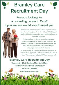 website image Recruitment Event Oct 19 209x300 - Care Homes Dorset & Residential Care Wiltshire