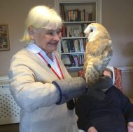 barn owl 1 190x188 - Care Homes Dorset & Residential Care Wiltshire
