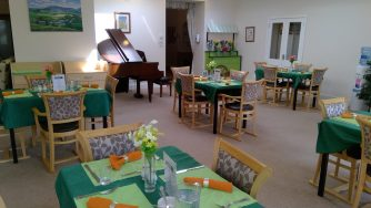 BH dining room1 334x188 - Care Homes Dorset & Residential Care Wiltshire