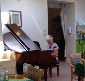 BHpiano2 300x287 - Care Homes Dorset & Residential Care Wiltshire