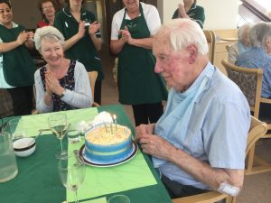 birthday1 300x225 - Care Homes Dorset & Residential Care Wiltshire