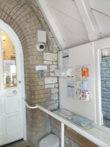 Covid Porch Camera and PPE Station  225x300 - Care Homes Dorset & Residential Care Wiltshire