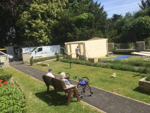may26bhsummerhouse 300x225 - Care Homes Dorset & Residential Care Wiltshire