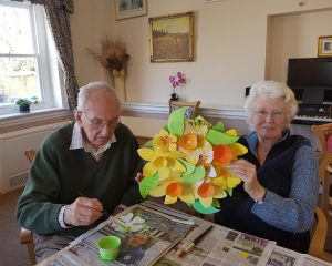 spring crafts 300x240 - Care Homes Dorset & Residential Care Wiltshire