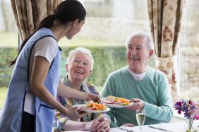 meal time medium 282x188 - Care Homes Dorset & Residential Care Wiltshire