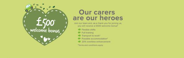 welcome 500 bonus heroes copy 591x188 - Care Homes Dorset & Residential Care Wiltshire